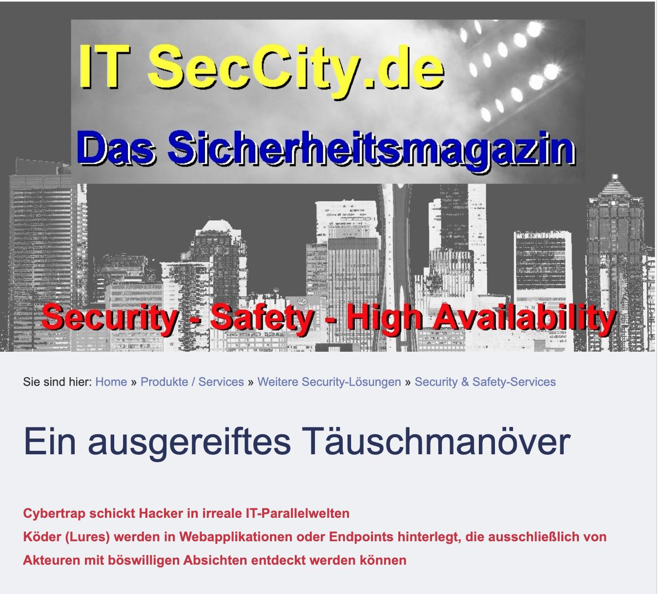 2019.8.27 Itseccity.de