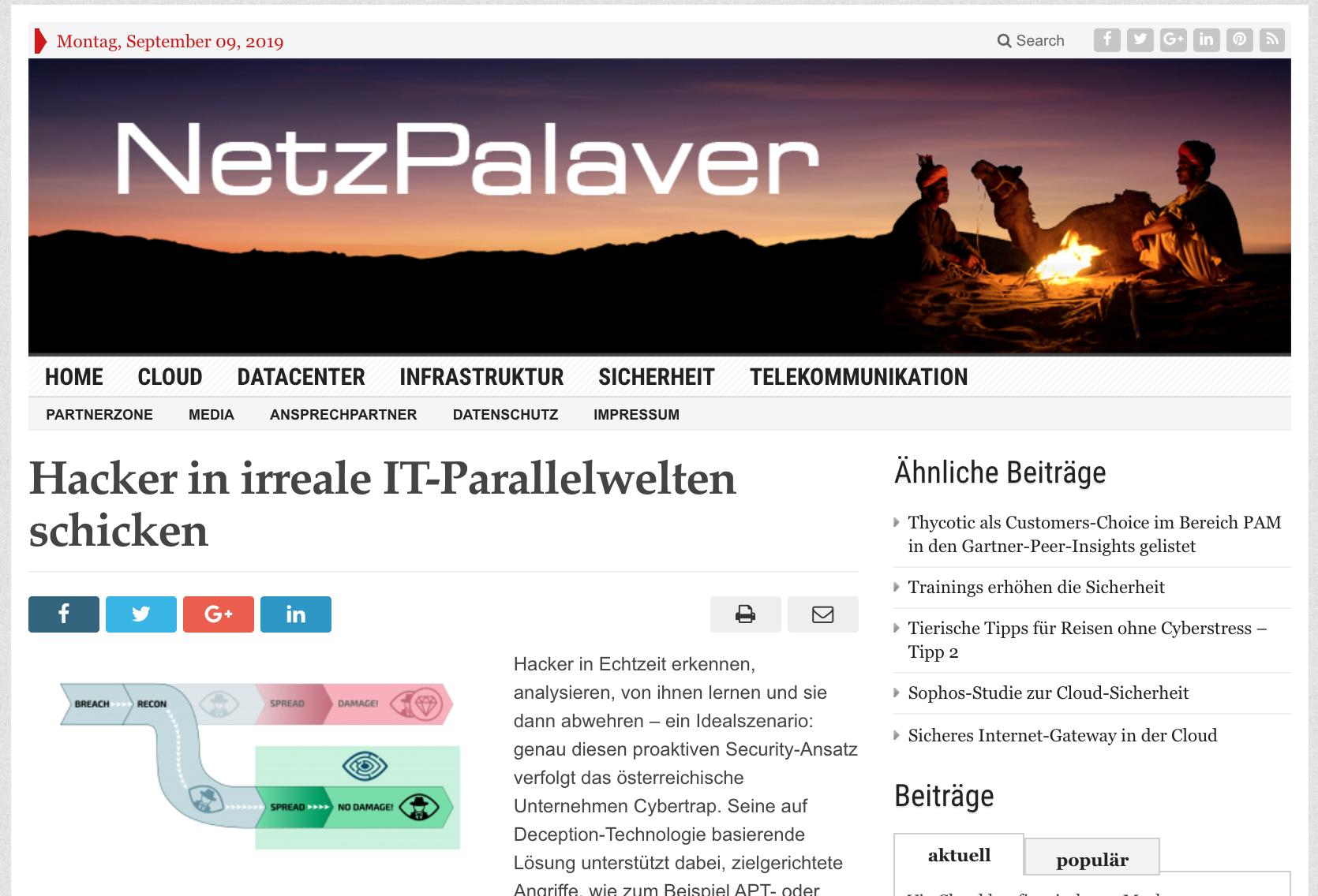 2019.8.9 Netzpalaver.de