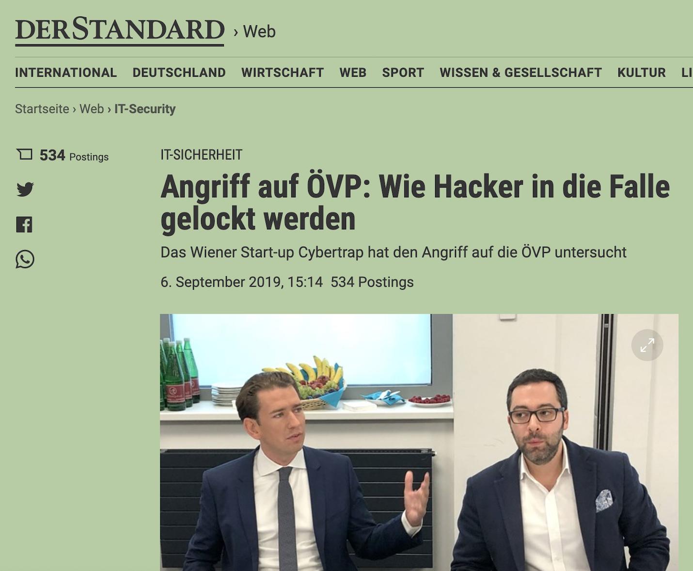 Derstandard 6.9.2019